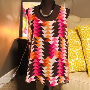 Old Navy colorful blouse